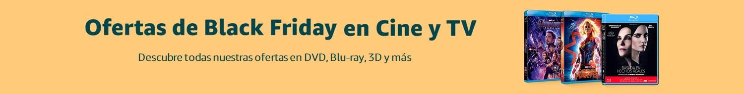 Ofertas de Black Friday en Cine y TV