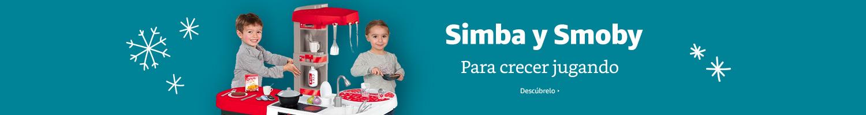 Para crecer jugando, Simba y Smoby