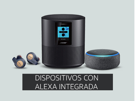 Dispostivos con Alexa Integrada