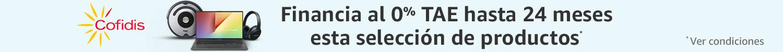 Financia al 0% en esta selección de productos