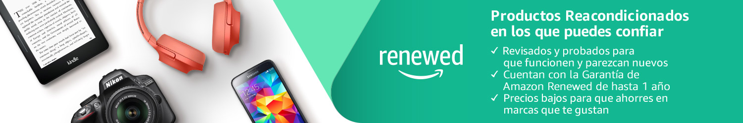 Reacondicionado en Amazon Renewed