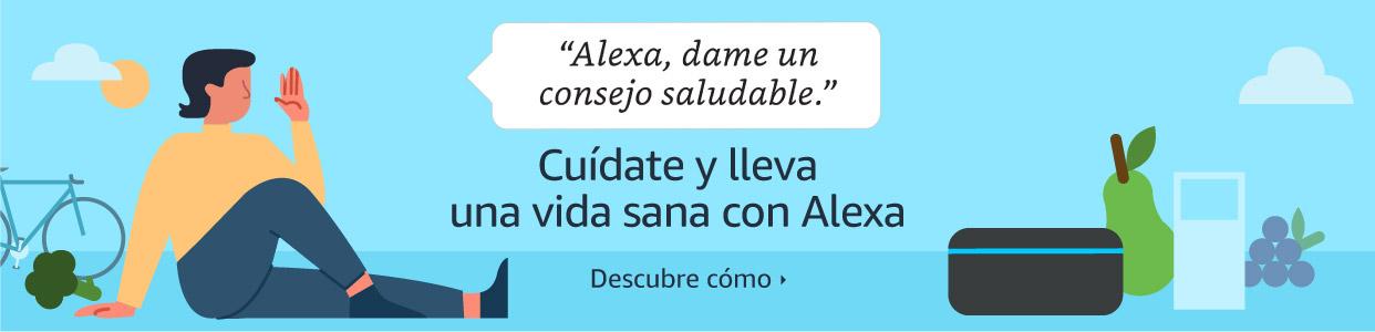 Siéntete bien con Alexa
