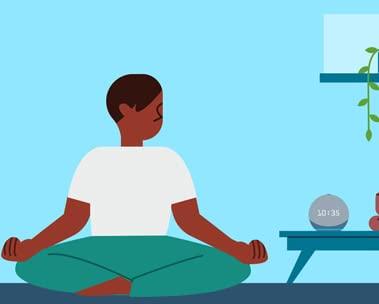 """""""Alexa, quiero meditar"""""""