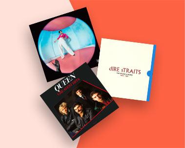 Ofertas en CDs y Vinilos