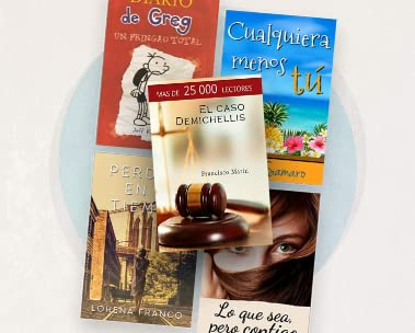Oferta del mes Kindle: hasta -50% en eBooks