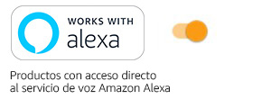 Works with Alexa TURNED On