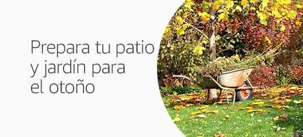 Prepara tu patio y jardín para el otoño