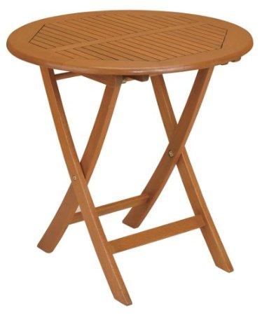 strathwood basics table de jardin pliante style bistro en bois dense jardin. Black Bedroom Furniture Sets. Home Design Ideas
