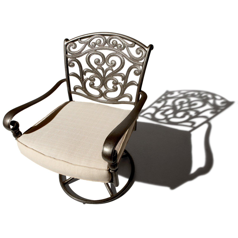 Strathwood Swivel Dining Armchair