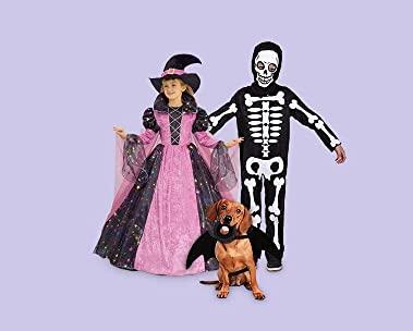 Disfraces de Halloween para toda la familia a precios bajos