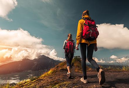 Acampada y senderismo