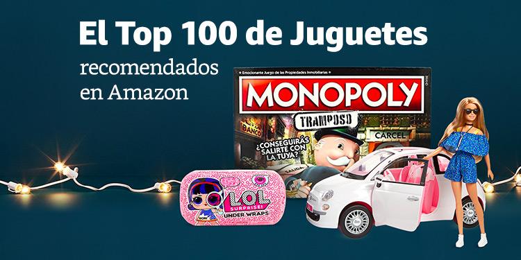 El Top 100 de Juguetes recomendados en Amazon