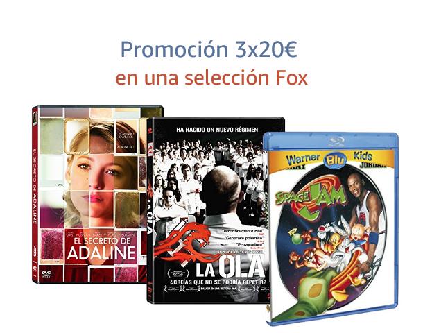 3x20€ en una selección Fox