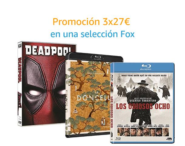 3x27€ en una selección Fox