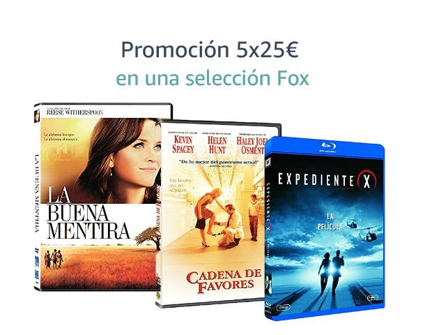 5x25€ en una selección Fox