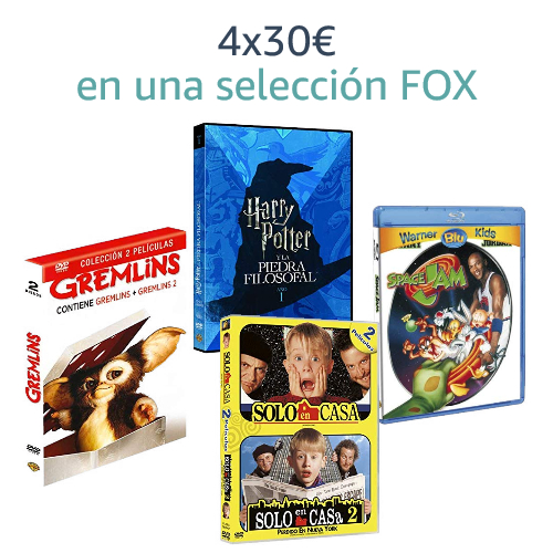 4x30€ en una selección Fox