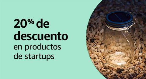 20% de descuento en productos de startups