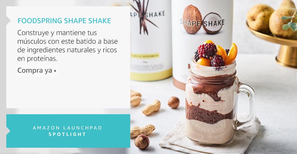 Amazon Launchpad: Foodspring Shape Shake