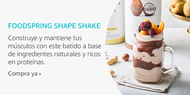 Amazon Launchpad: Foodspring Shape Shake
