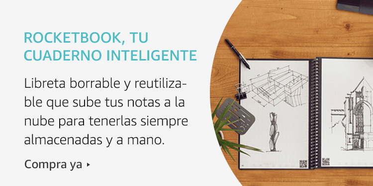 Amazon Launchpad: Rocketbook, tu caderno inteligente