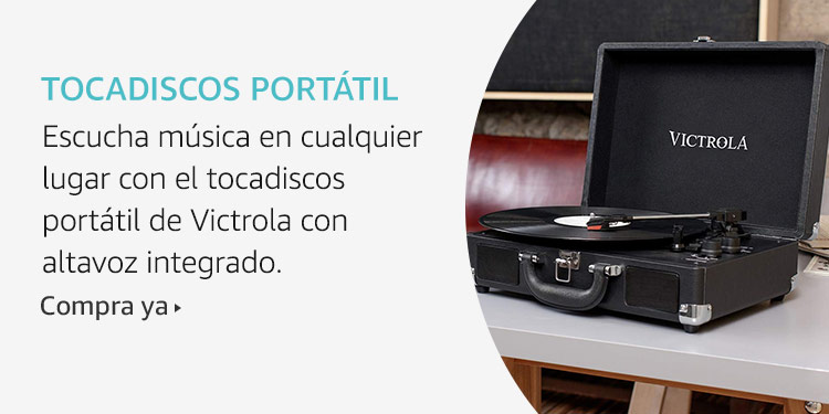 Amazon Launchpad: Tocadiscos portátil
