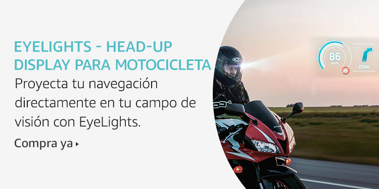 Amazon Launchpad: Eyelights Head Up Display Para Motocicleta