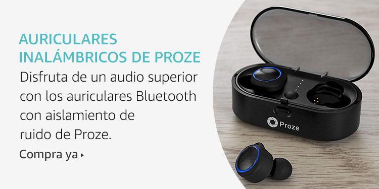 Amazon Launchpad: Auriculares inalámbricos de Proze