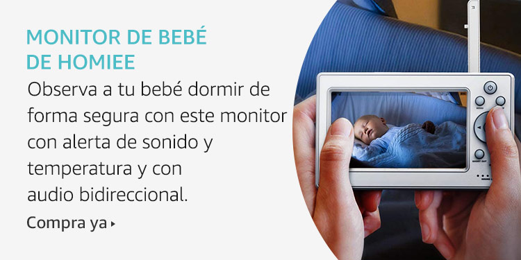Amazon Launchpad: Monitor de bebé de Homiee