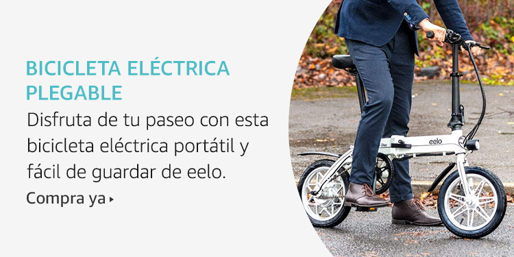 Amazon Launchpad: Bicicleta eléctrica plegable