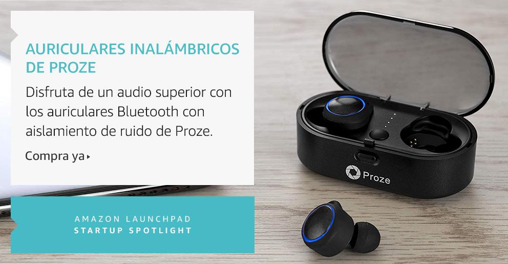 Amazon Launchpad:Auriculares inalámbricos de Proze