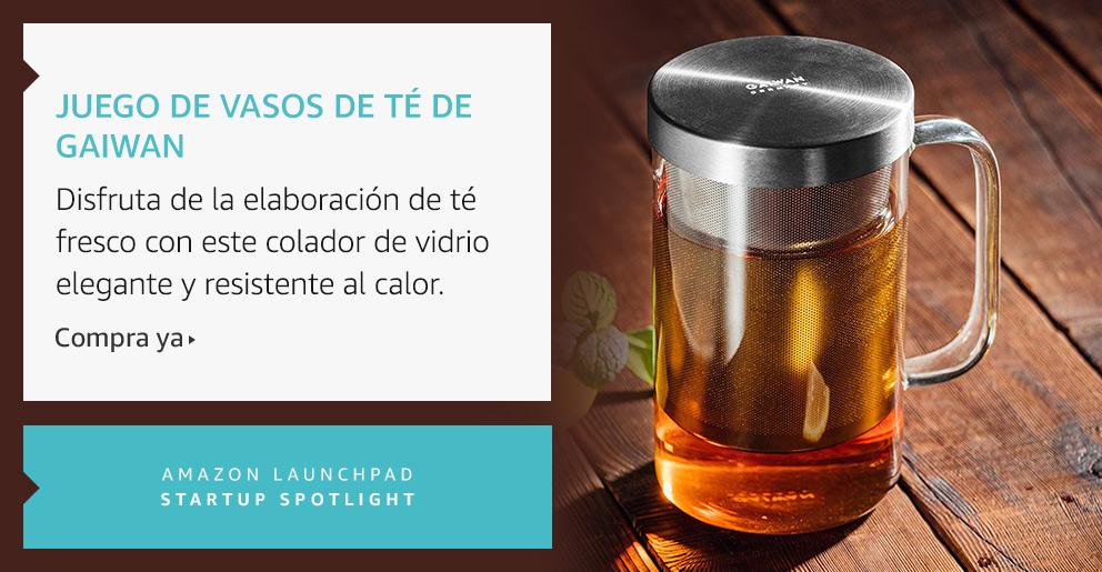 Amazon Launchpad: Juego de vasos de té de Gaiwan