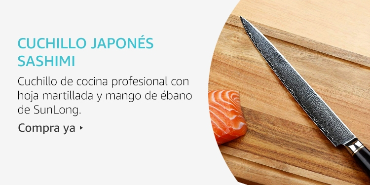 Amazon Launchpad: Cuchillo japonés Sashimi