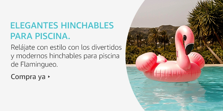 Amazon Launchpad: Elegantes hinchables para piscina.