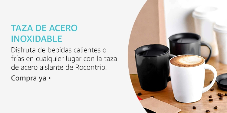 Amazon Launchpad: Taza de acero inoxidable