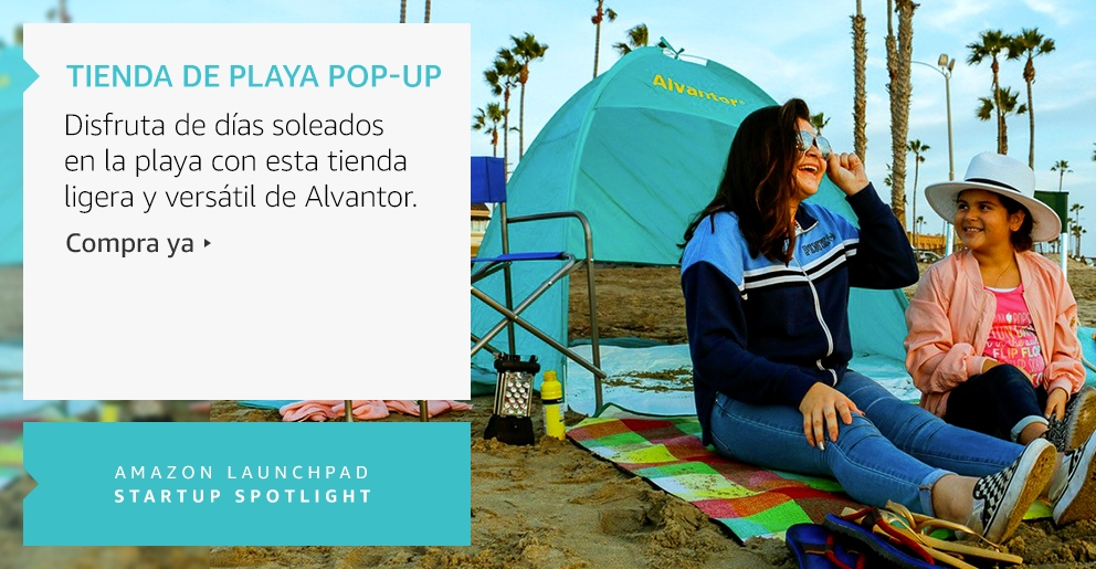 Amazon Launchpad: Tienda de playa Pop-Up