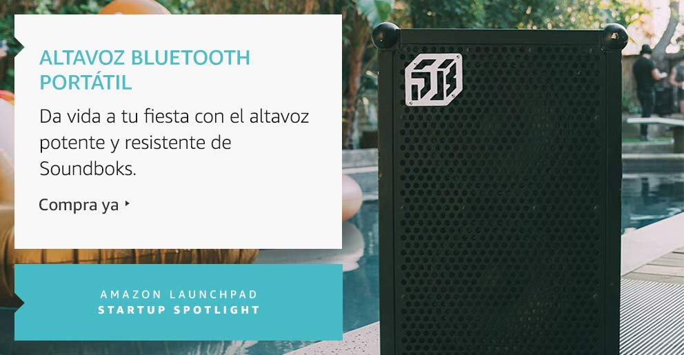 Amazon Launchpad:Altavoz Bluetooth portátil