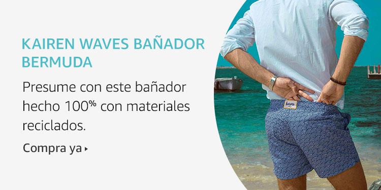 Amazon Launchpad: Kairen Waves Banador Bermuda