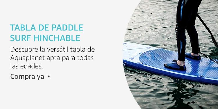 Amazon Launchpad:Tabla de Paddle surf hinchable
