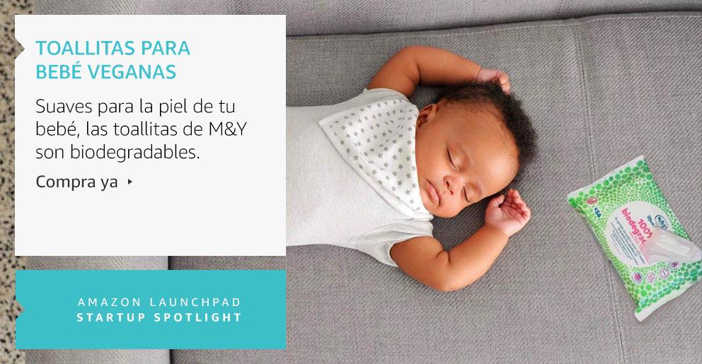 Amazon Launchpad: Toallitas para bebé veganas