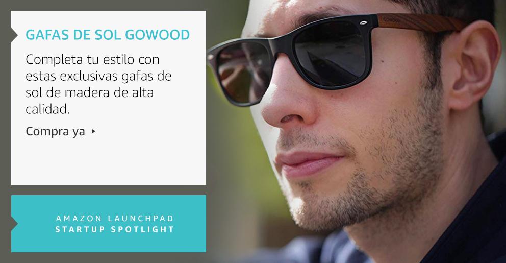Amazon Launchpad: Gafas de sol Gowood