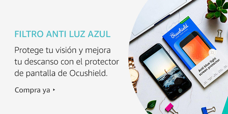 Amazon Launchpad: Filtro anti luz azul