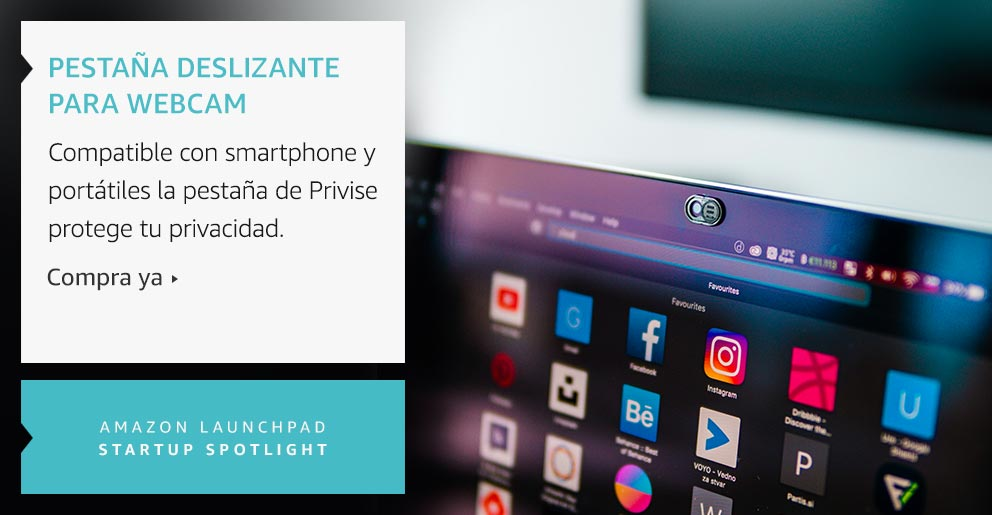 Amazon Launchpad: Pestaña deslizante para webcam