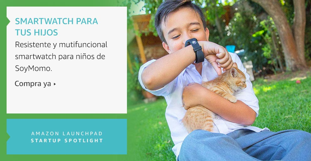 Amazon Launchpad: Smartwatch para tus hijos