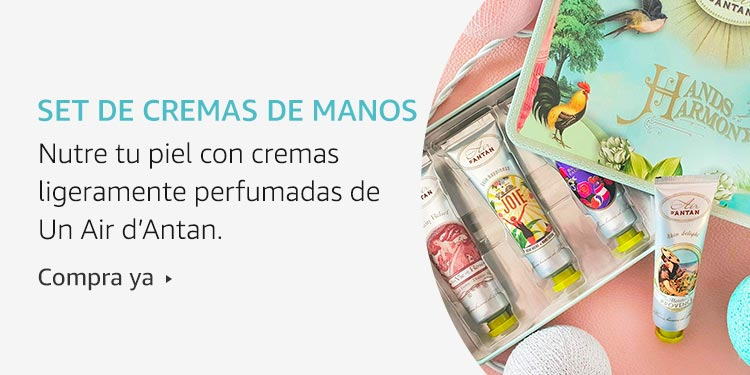 Amazon Launchpad: Set de cremas de manos