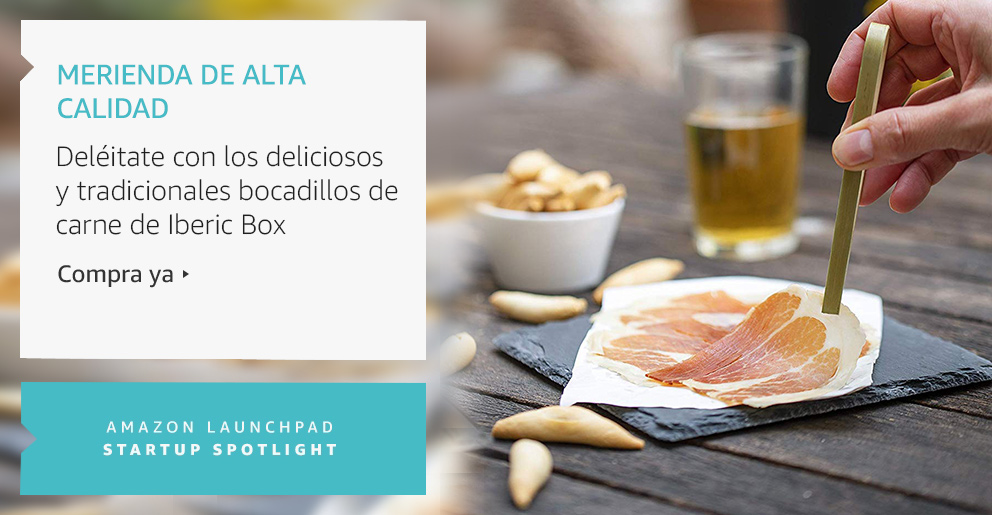 Amazon Launchpad: Merienda de alta calidad
