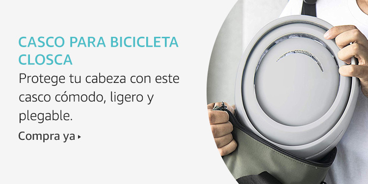 Amazon Launchpad: Casco para bicicleta Closca