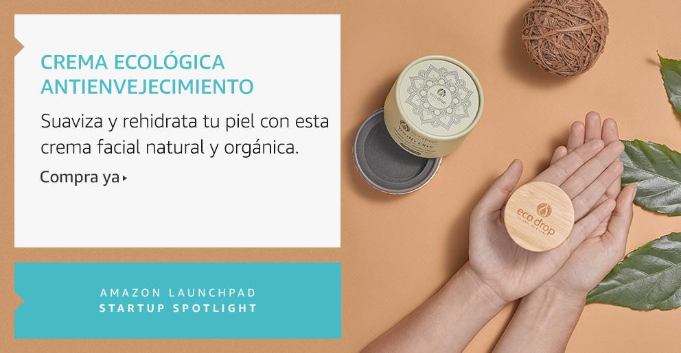 Amazon Launchpad: Crema ecológica antienvejecimiento