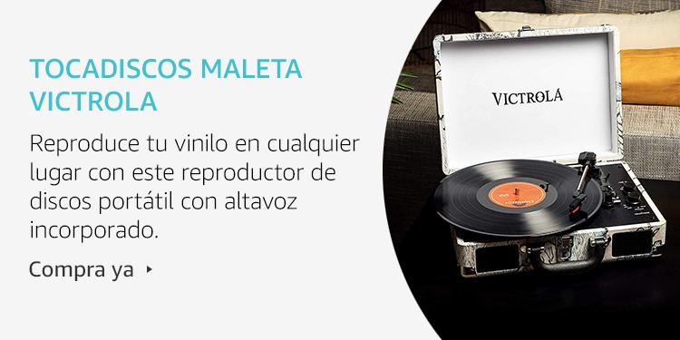 Amazon Launchpad: Tocadiscos maleta Victrola