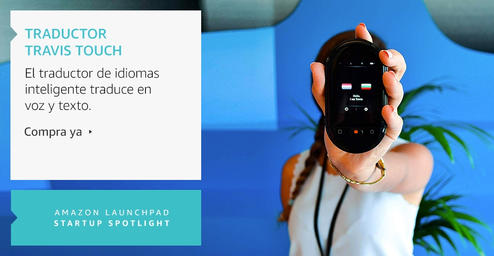 Amazon Launchpad: Traductor Travis Touch
