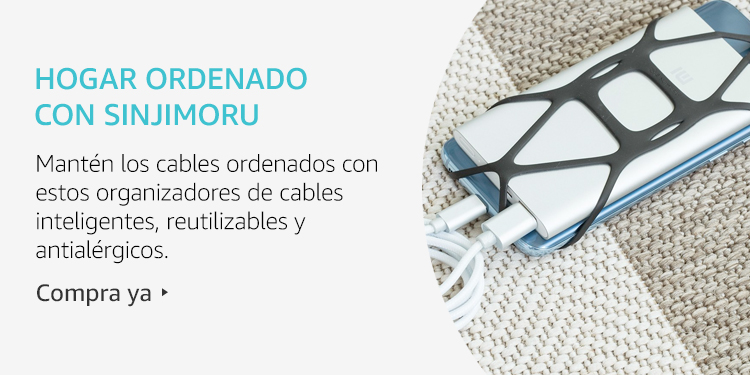 Amazon Launchpad: Hogar ordenado con Sinjimoru